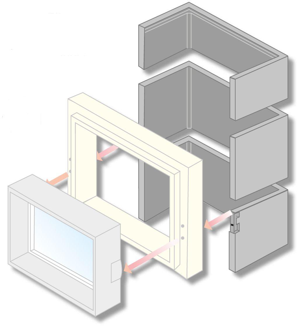 Turbo Betonlichtschacht Standard - Hieber Beton YB48